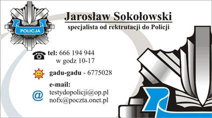 testy wiedzy ogólnej do policji